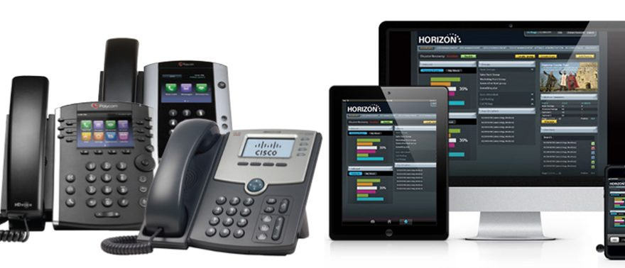 Horizon hosted call recording phone system from Trio Telecom